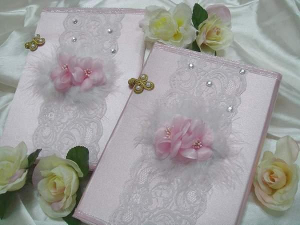 [幸福久久久]浪漫羽戀花結婚證書(2本含收藏袋)