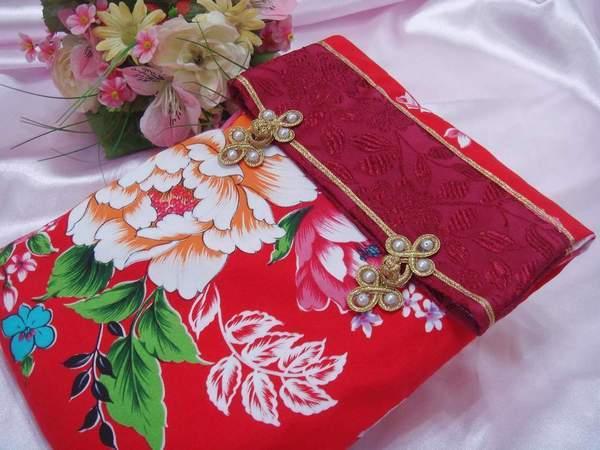 [幸福久久久]時尚復古風結婚證書夾結婚證書(2本含收藏袋)2