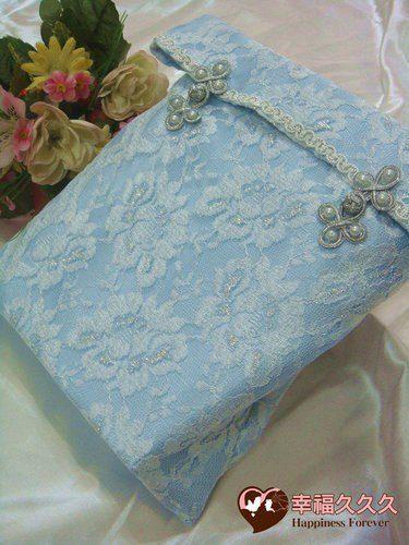 [幸福久久久]浪漫海洋風新版手作結婚證書(證書2本含收藏袋一個)2