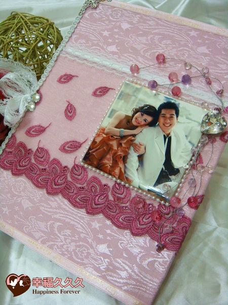 [幸福久久久]粉戀華漾結婚證書夾結婚證書(優惠免運費)