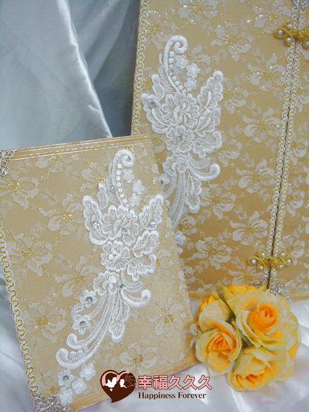[幸福久久久]黃金晶漾結婚證書(特價499元)2