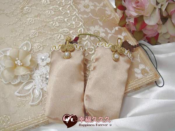 [幸福久久久]圓滿蕾絲手作結婚證書夾結婚證書(含印章套優惠免運費)2