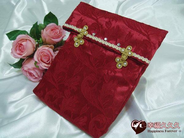幸福久久久]世紀首藏手作結婚證書(證書2本含收藏袋一個手工相片框)3