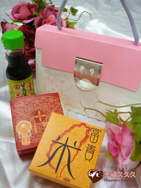 [幸福久久久]幸福富貴一起唷(油)米禮盒組