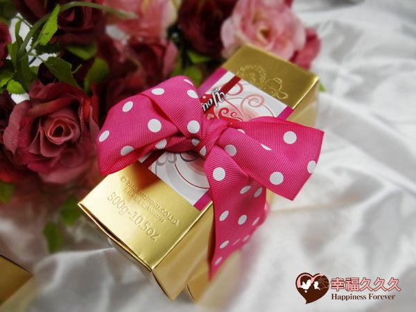 [幸福久久久]黃金囍米2入豪華組(粉嫩版)