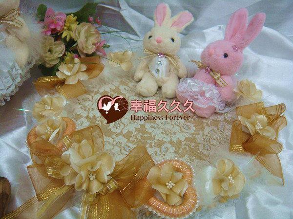 [幸福久久久]幸福兔喜糖籃4件組~獨家款2