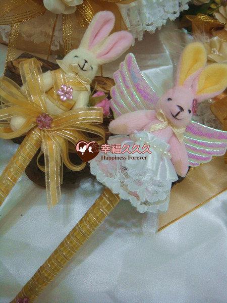 [幸福久久久]幸福兔喜糖籃4件組~獨家款3