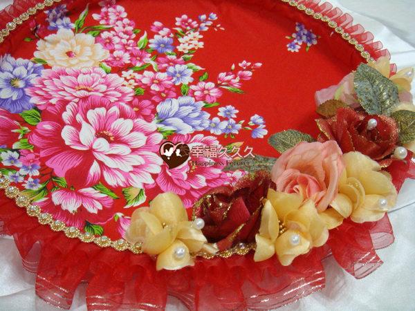 [幸福久久久]時尚復古風牡丹花喜糖盤2
