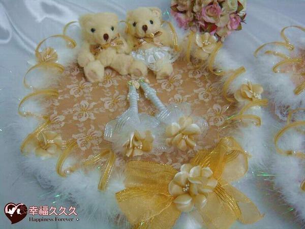 [幸福久久久]黃金天使之戀喜糖籃5件組~優惠免運費!2
