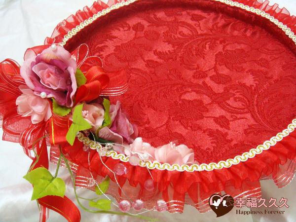[幸福久久久]豪華婚禮(喝茶盤喜糖盤)免運費優惠