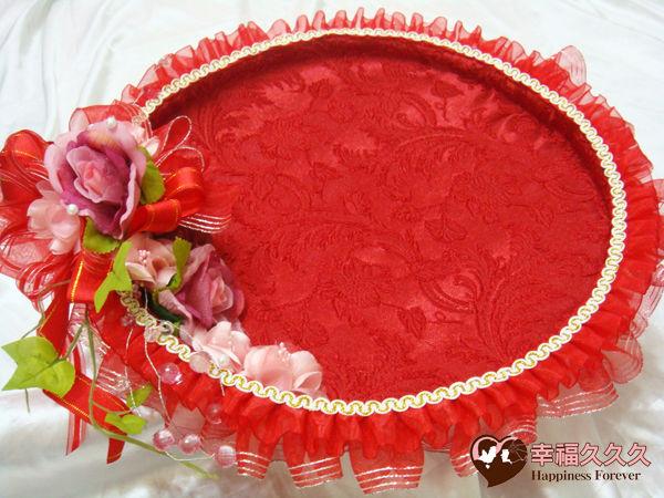 [幸福久久久]豪華婚禮(喝茶盤喜糖盤)免運費優惠2