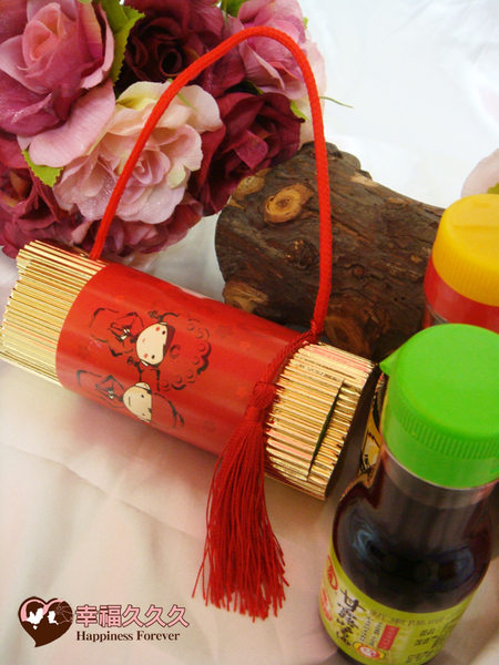 [幸福久久久] 金幸福金蘭甘露醬油提盒