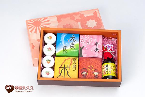 [幸福久久久]四季甜蜜蜜米滿禮盒