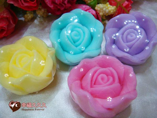 [幸福久久久]小龍包玫瑰手工皂手提組2