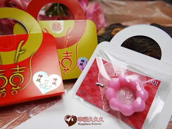 [幸福久久久]小龍包甜甜圈手工皂手提組