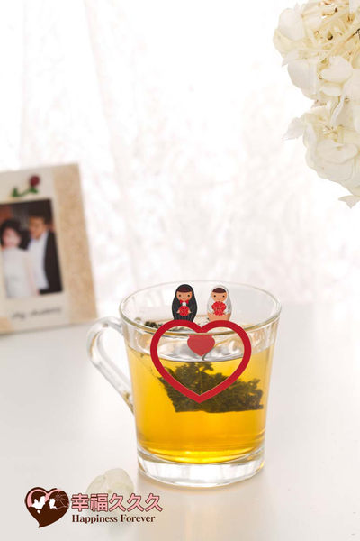 [幸福久久久]永結同心喝茶禮盒2