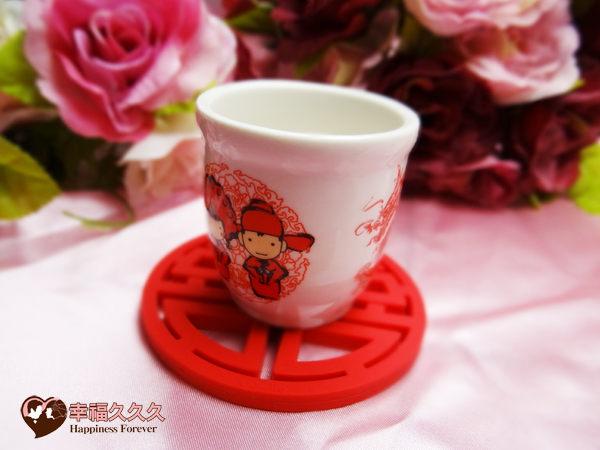 [幸福久久久]永結同心喝茶禮盒3