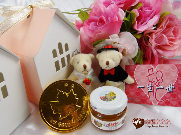 [幸福久久久]浪漫滿屋新人熊綜合禮盒3