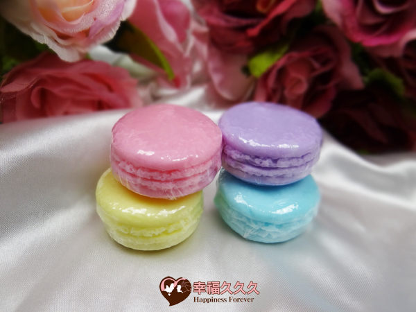 [幸福久久久]馬卡龍甜點手工皂3
