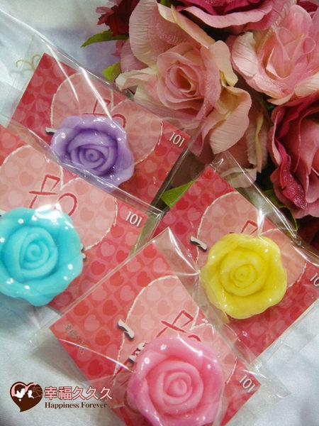 [幸福久久久]精緻玫瑰手工皂(龍年版)2