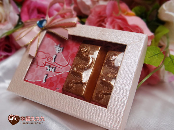 [幸福久久久]獨家發售~黃金翔龍金磚典藏禮盒