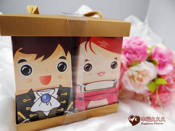 [幸福久久久]龍年Q版新人喝茶福袋禮盒組2