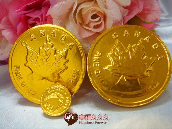 [幸福久久久]龍年超大金幣巧克力喜糖包(加贈姓名貼紙)2