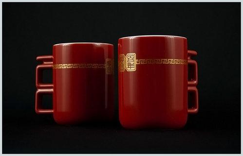 [幸福久久久]婚禮小物☆台灣設計師系列--百年好合馬克杯 2