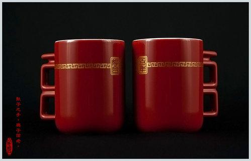 [幸福久久久]婚禮小物☆台灣設計師系列--百年好合馬克杯 4