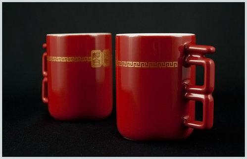 [幸福久久久]婚禮小物☆台灣設計師系列--百年好合馬克杯 3