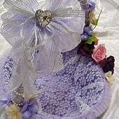[幸福久久久]紫煥時尚風喜糖籃