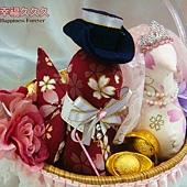 [幸福久久久]櫻花日本古布帶路雞、起家雞(袖珍版)2