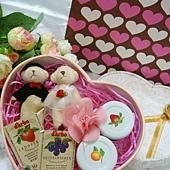 [幸福久久久]甜蜜新人熊果醬禮盒