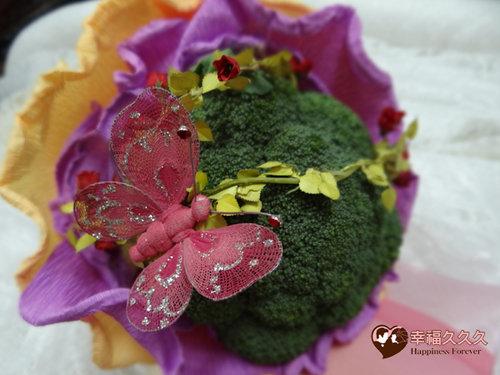 幸福久久久婚禮小物--婚禮小物之花椰菜捧花