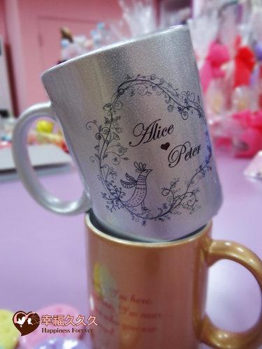幸福久久久婚禮小物--婚禮小物之時尚金銀對杯2