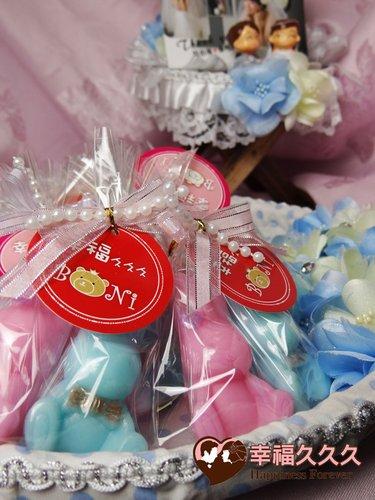 幸福久久久婚禮小物--婚禮小物之愛情兔手工香皂婚禮小物2