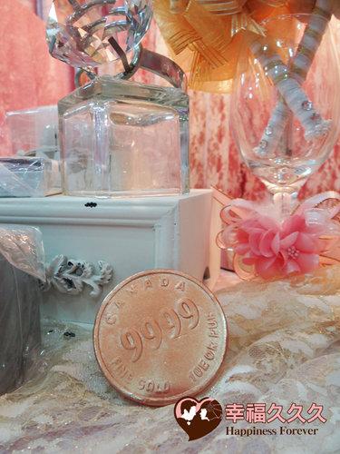 幸福久久久婚禮小物--婚禮小物之金幣久久久手工香皂3