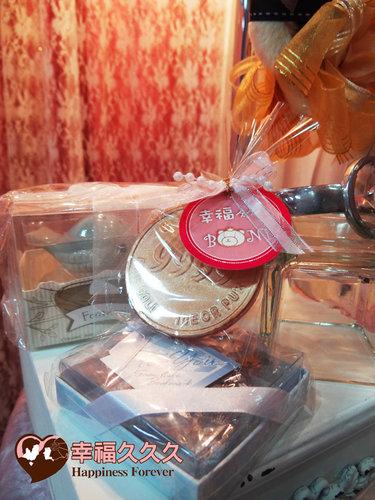 幸福久久久婚禮小物--婚禮小物之金幣久久久手工香皂4