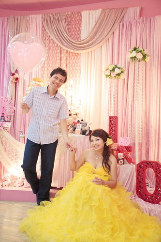 幸福久久久婚禮小物--婚禮小物之分享新人婚紗照