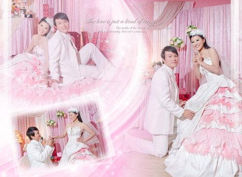幸福久久久婚禮小物--婚禮小物之分享新人婚紗照林小姐02