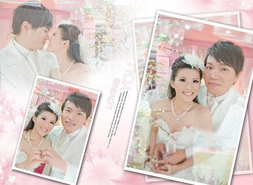 幸福久久久婚禮小物--婚禮小物之分享新人婚紗照林小姐01