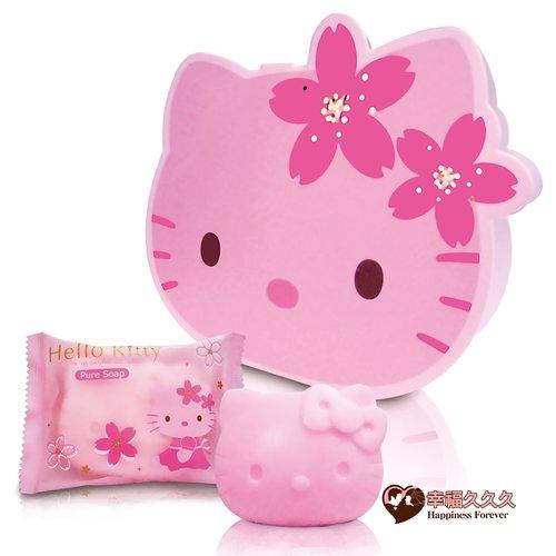 幸福久久久婚禮小物--婚禮小物之2012年最新版臉型Hello kitty櫻花香皂