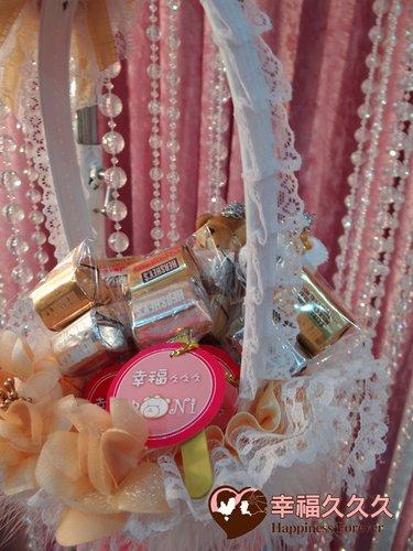 幸福久久久婚禮小物--婚禮小物之美國金磚巧克力01