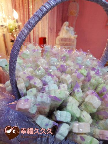 幸福久久久婚禮小物--婚禮小物之手工棉花糖01