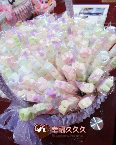 幸福久久久婚禮小物--婚禮小物之手工棉花糖04