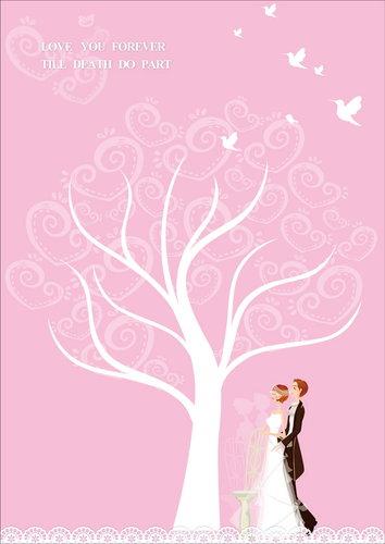幸福久久久婚禮小物--婚禮小物之獨家版指紋樹02
