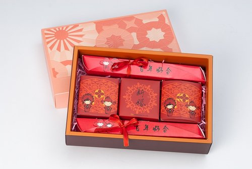 幸福久久久婚禮小物--婚禮小物之熱門喝茶禮盒01