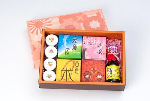 幸福久久久婚禮小物--婚禮小物之熱門喝茶禮盒02