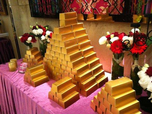 幸福久久久婚禮小物--婚禮小物之黃金富貴囍米