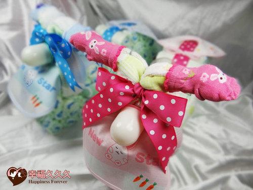 幸福久久久婚禮小物--婚禮小物之寶寶機車尿布蛋糕02